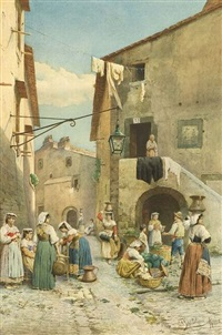market street by federico bartolini