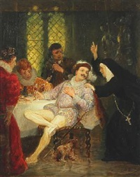 scene from don juan by otto bache