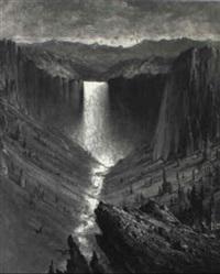 yosemite valley by edward rufus hill