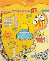 jerusalem by niki de saint phalle