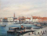 landscape of venice by teodor vescu