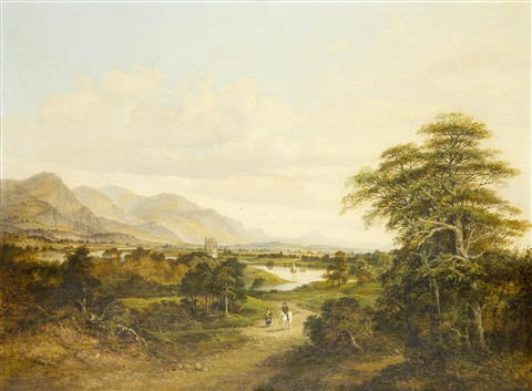 a view of cambuskenneth tower by jane nasmyth