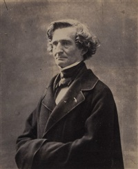 berlioz, ca.1863 by felix nadar