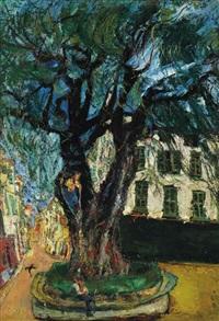 l'arbre de vence by chaïm soutine