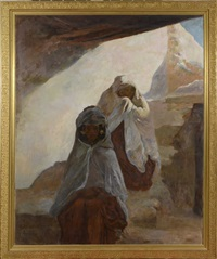 femmes berbères by louis-ferdinand antoni
