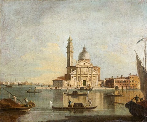 vue de leglise saint georges by francesco guardi