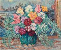 vase de fleurs by jeanne selmersheim-desgranges