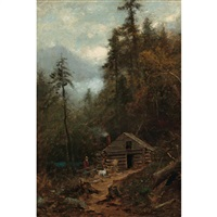 chopping wood by samuel lancaster gerry