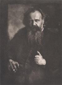 portrait des schriftstellers hermann bahr (1863-1934) by hugo erfurth