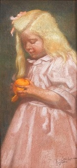 l'enfant à l'orange by nestor cambier