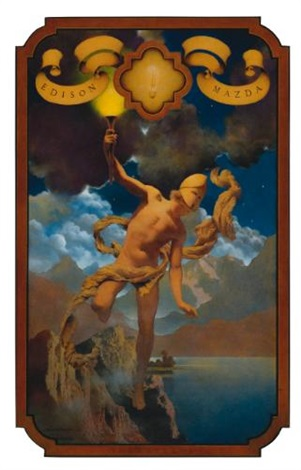 prometheus by maxfield parrish