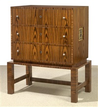 chest of drawers by alfons hetmanek and franz kaym