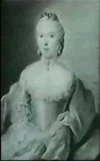 portraits d'une dame et d'une homme by pierre frédéric de lacroix