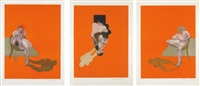 triptych (after triptych 1983) by francis bacon