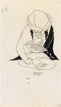 a miser by aubrey vincent beardsley