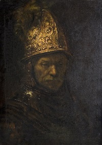 der mann mit dem goldhelm (after rembrandt) by hermann dörmann