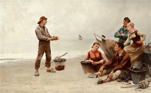the fishermans story by august vilhelm nikolaus hagborg