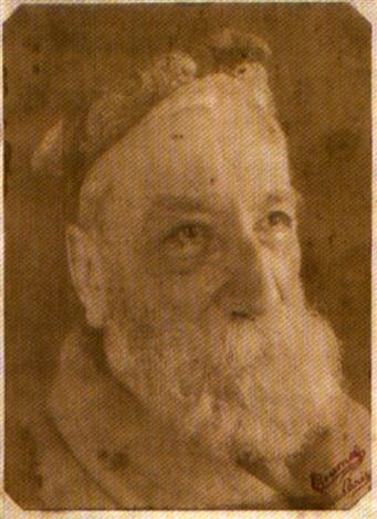 portrait danatole france by p choumoff