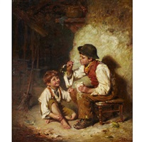 blowing bubbles by edwin thomas roberts