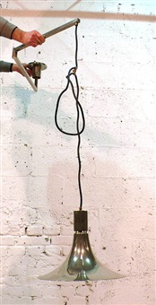 hanging lamp (from am/as series) by franca helg, antonio piva and franco albini