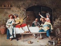 the troubadour's charm by alessandro sani