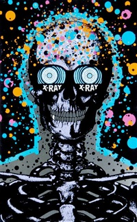 x-ray spex blue by paul insect
