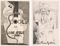 eaux-fortes pour alcools de guillaume apollinaire (suite of 40) by louis marcoussis