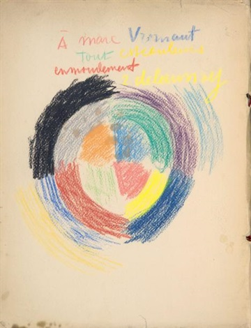 les fenêtres album w1 work and text by guillaume apollinaire quarto by robert delaunay