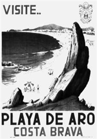 playa de aro / costa brava (by luch) by posters: tourism