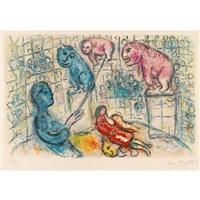 cirque by marc chagall
