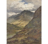 loch katrine perthshire by henry decon hillier
