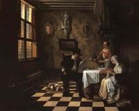 la cena del violinista by william-louis angus