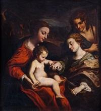 bodas místicas de santa catalina by correggio