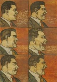 arture 297, 34a. portrait de maïakovski by yuksel arslan
