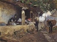 lavanderas by joaquín araujo ruano