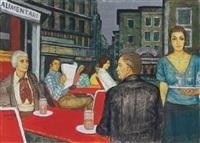 coffee house in rome by bela czene