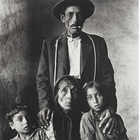 gypsy family by irving penn