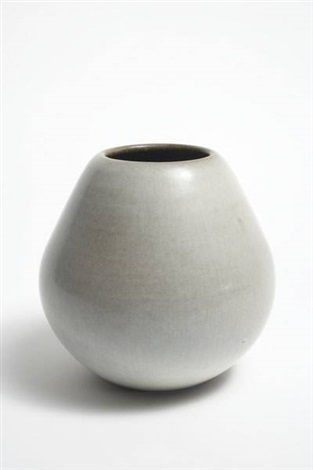 pear form vase by rupert j deese