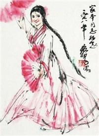 舞扇 by huang zhou