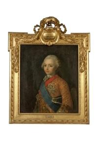 portrait du duc de bourgogne, frère ainé du duc de berry futur louis xvi by jean-martial fredou