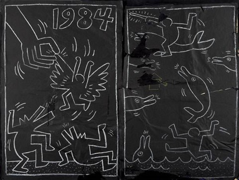 Untitled Subway drawing by Keith Haring on artnet