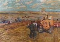 field workers by valentin aleksandrovich lissenkov