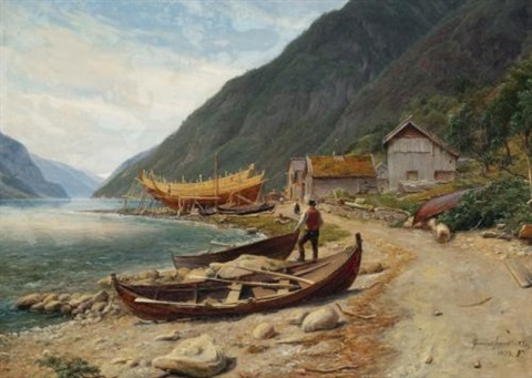 gravensfjord by thomas fearnley