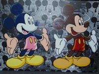 double mickey mouse by steve kaufman