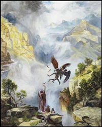 kiss the sky by kent monkman