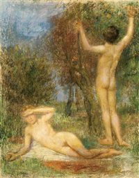adam and eve by hermann moest