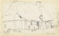 la maison (+ 2 others; 3 works) by theodore robinson