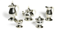 service a the et cafe (set of 5) by ernest röthlisberger