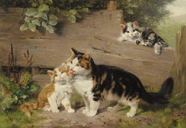 motherly affection by julius adam the elder