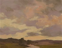 taos clouds by eanger irving couse